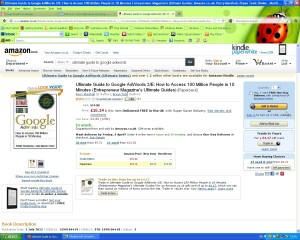 Google Adwords book on Amazon.co.uk