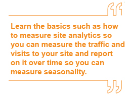 website analytics quote